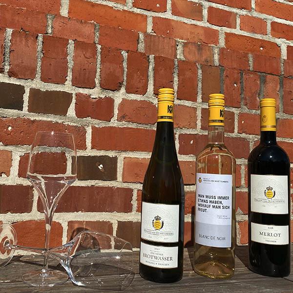 Digitale Weinprobe im Fresko mit Weingut Herzog von Württemberg