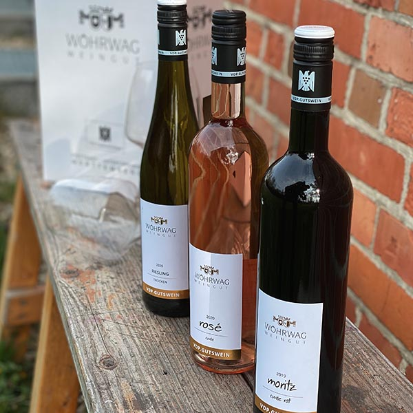 Digitale Weinprobe mit Weingut Wörwag
